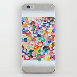Polka Daub Barnacles iPhone Skin