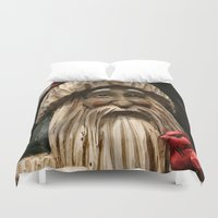 depression Duvet Covers featuring Tis the seasonal depression...wah, wah, wah, wah, boo hoo! by IowaShots