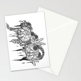 Skulls 2 Stationery Cards
