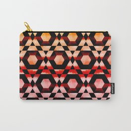 Red Hexy Carry-All Pouch