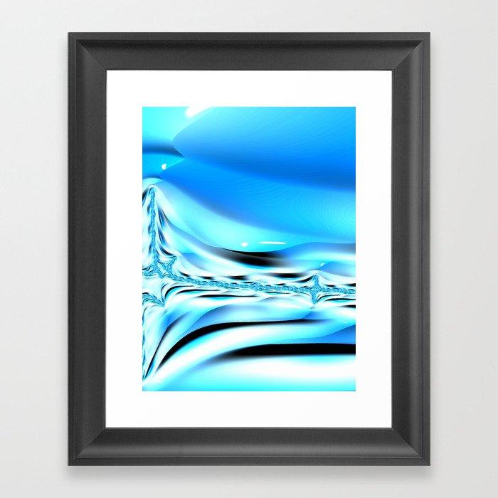 The Blues #2 Framed Art Print