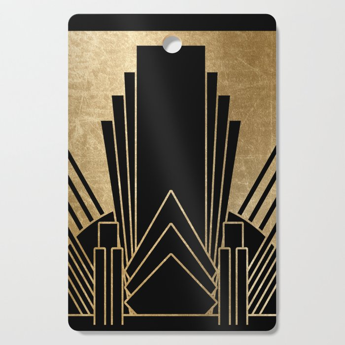 Art deco design Cutting Board