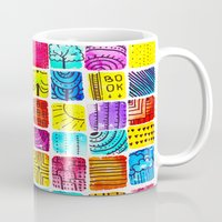school Mugs featuring School by Verismaya