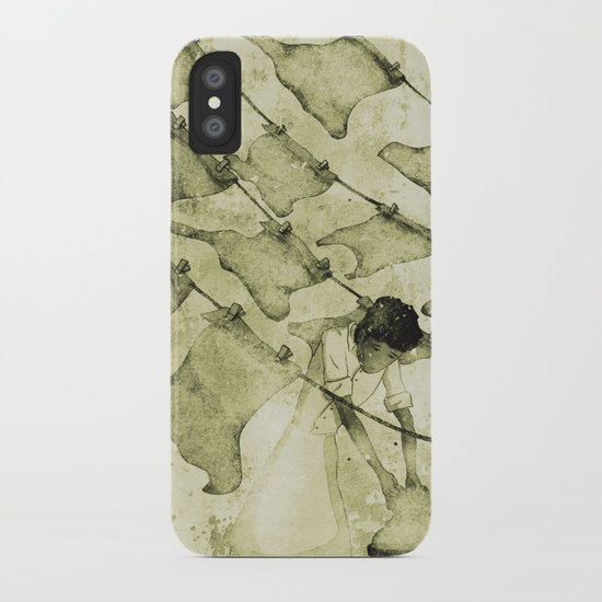 Salt of the earth iPhone Case