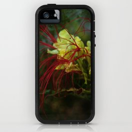 spidery red iPhone Case