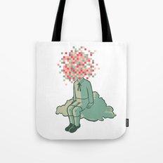 Pixel Boy Tote Bag