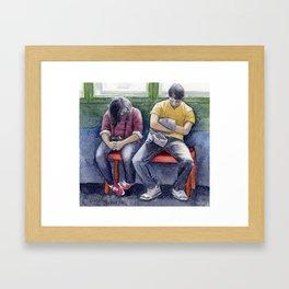 Museum Fatique Framed Art Print