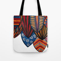 surf Tote Bags featuring Surf by kartalpaf
