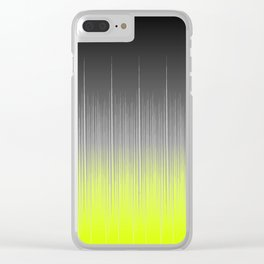 black and yellow background #society6 #decor #buyart #artprint Clear iPhone Case
