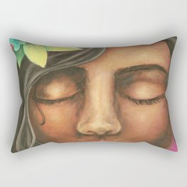 Fuity Lady Rectangular Pillow