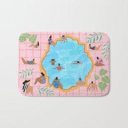Marigold pool Bath Mat