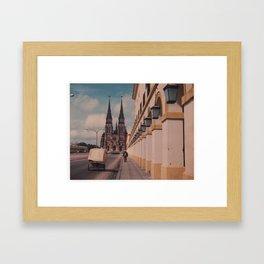 Detours Framed Art Print