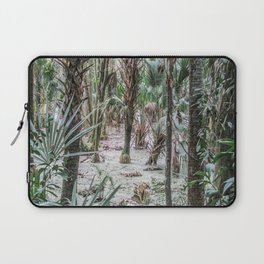 Palm Trees in the Green Swamp Laptop Sleeve