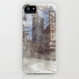 Vacouver Downtown Theatre iPhone Case