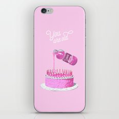 You are old iPhone & iPod Skin