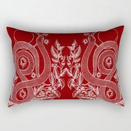 Killing Moon - Snake and Nightshade Rectangular Pillow
