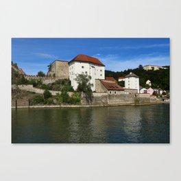 Passau Veste Niederhaus Canvas Print