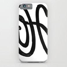 Monogrammed Letter H iPhone 6s Slim Case