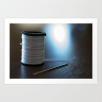 sewing Art Prints featuring Sewing by Heartland Photography By SJW