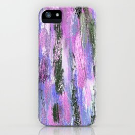 Abstract Brushstrokes iPhone Case