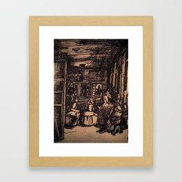 Las Meninas  Framed Art Print