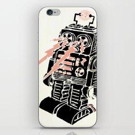 Vintage Robot iPhone Skin