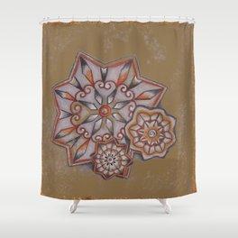 Gaillardia Shower Curtain