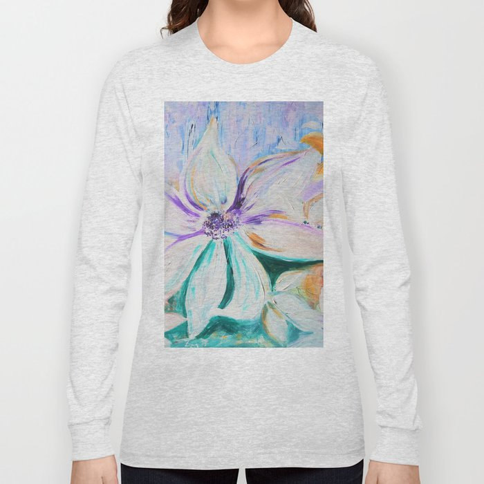 flowers are the stars Long Sleeve T-shirt