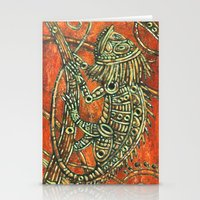 chameleon Stationery Cards featuring Chameleon by Sherdeb Akadan