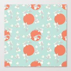 Koi fish pattern 005 Canvas Print
