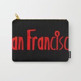 San Francisco ATM Carry-All Pouch