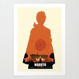 Naruto Shippuden - Pain Art Print