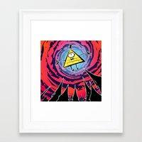 bill Framed Art Prints featuring Bill by Dinolich