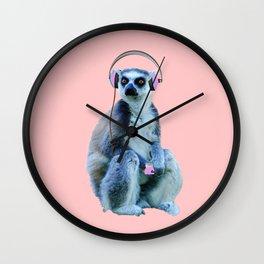 music non stop Wall Clock