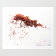 Fire&Gasoline II Art Print