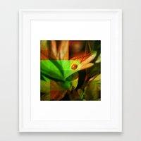 ladybug Framed Art Prints featuring Ladybug  by SensualPatterns