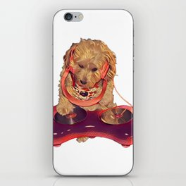 DJ Dog E Dog iPhone Skin