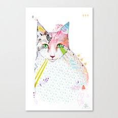 Cat / March Canvas Print