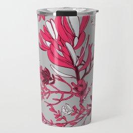 Fuchsia Cradle Flora Travel Mug