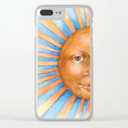 Was a Sunny Day Clear iPhone Case