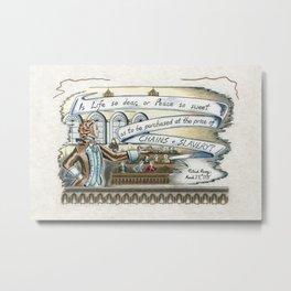 Patrick Henry - Is Life So Dear Metal Print