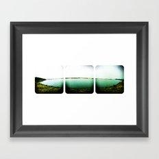 Beach 50 Framed Art Print