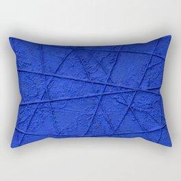 All Blue Rectangular Pillow