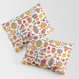Tea time doodles Pillow Sham