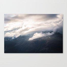 Sunlight over Zermatt Canvas Print