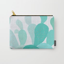 Watercolor of cacti IX Carry-All Pouch