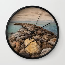 The breakwater Wall Clock