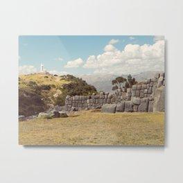 Cristo Blanco, Cusco Metal Print