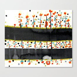 so many flowers Canvas Print