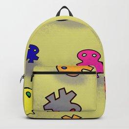 Funky Aliens Backpack